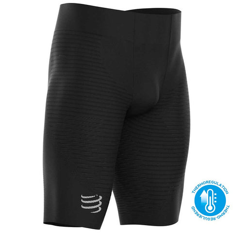 COMPRESSPORT OXYGEN UNDER CONTROL SHORTS - BLACK