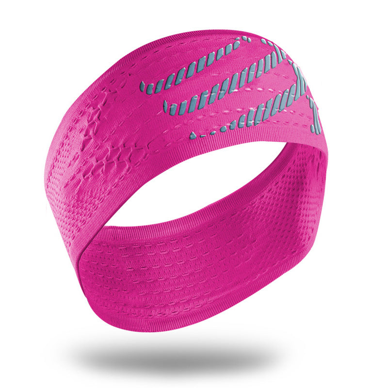 COMPRESSPORT ON/OFF HEADBAND - PINK