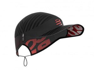 Compressport Unisex's Pro Racing Cap Black - CU00003B_990_0TU