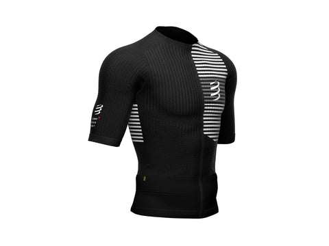 COMPRESSPORT TRI POSTURAL SS TOP - BLACK