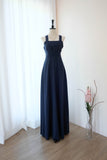 LILIAN Navy dress