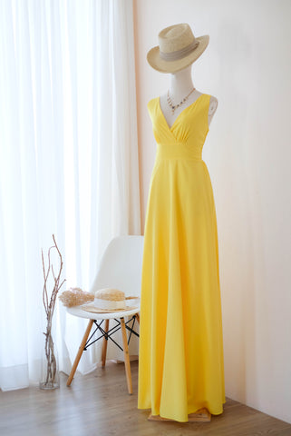MY LADY Yellow dress