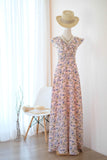 AVERY Pink Printed dress