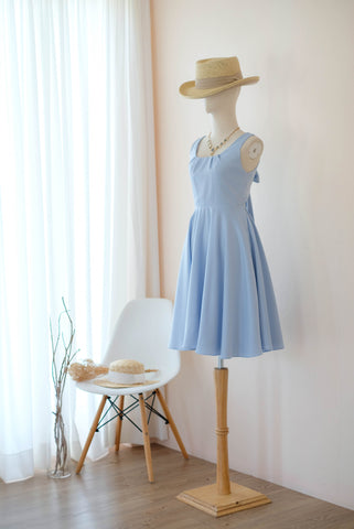 LOLITA Serenity Blue Satin Dress
