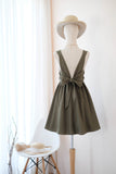 KATE Olive Green Dress