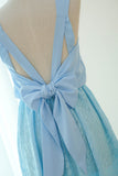 VALENTINA Baby Blue Lace Dress
