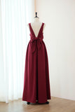 KATE Burgundy dress