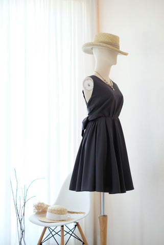 KATE Charcoal Gray Dress