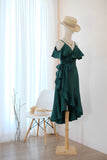 ROSE Forest Green dress