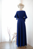 ROSE Deep Royal Blue dress