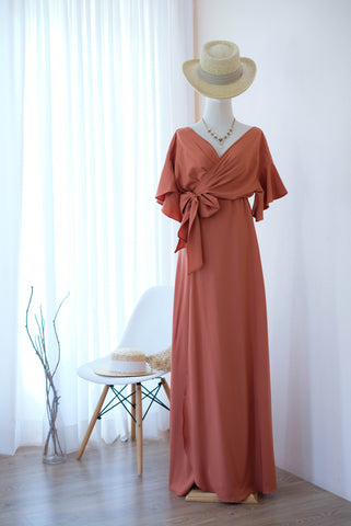 ROSE Rust Copper dress