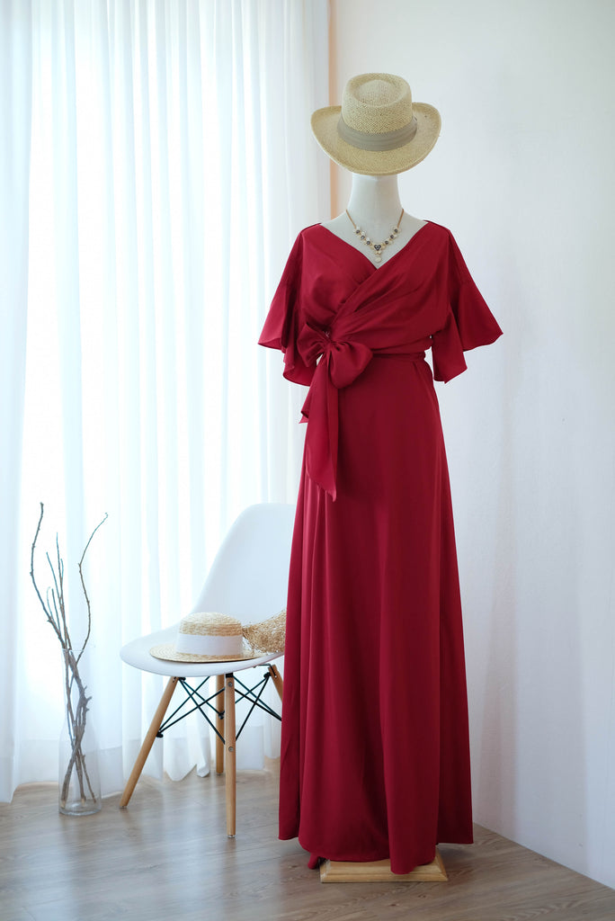 ROSE Blood Red dress
