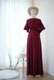 ROSE Burgundy dress