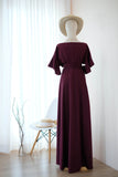ROSE Maroon dress