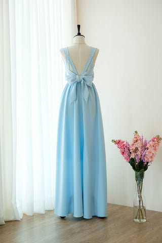 VALENTINA Powder Blue Dress