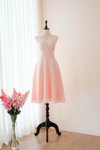 MY LADY Pink blush dress