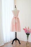 VALENTINA Pink blush dress