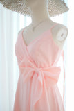 LINH Pink blush dress