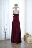 LINH Burgundy dress
