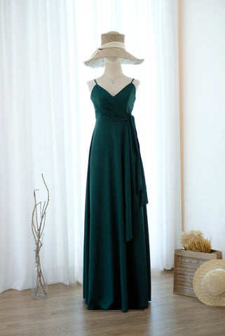 LINH Forest Green dress