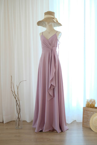 LINH Mauve dress