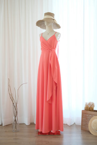 LINH Coral dress