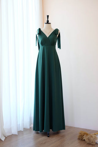 AVERY Forest Green dress