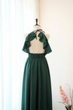 VANESSA Forest Green Dress