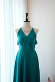 Jade Green dress Jade Green bridesmaid dress Long Wedding Dress Jade Green cocktail Party dress Backless Halter Dress Green Evening gown