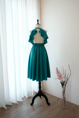VANESSA Jade Green dress
