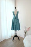 VALENTINA Rustic Blue dress