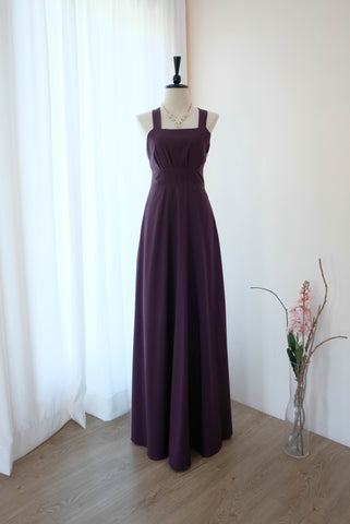 LILIAN Plum dress
