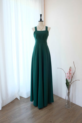 LILIAN Forest Green dress