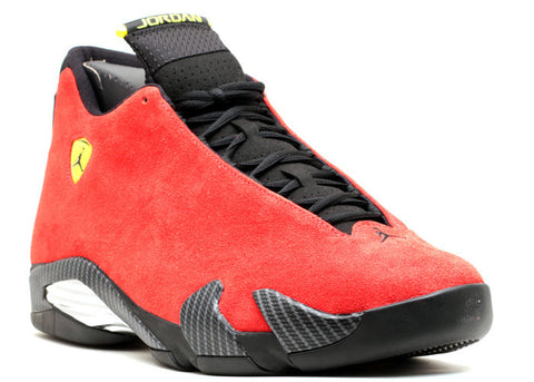 Jordan 14 Ferarri Retro Front Right