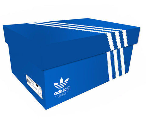 Adidas Giant Shoe Box Drawer Blue Free Shipping - Sole Alley