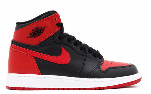 Air Jordan 1 Banned High OG Bred (GS) 2016 Release - Sole Alley
