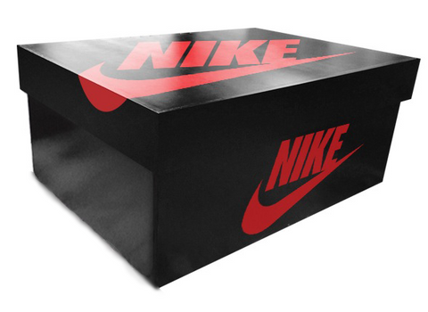 Nike Giant Shoe Box Drawer Black Free Shipping - Sole Alley