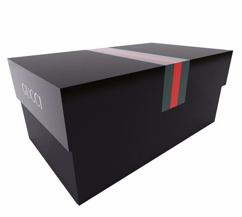 Gucci Giant Shoe Box Drawer Black Free Shipping - Sole Alley