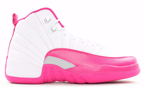 Jordan 12 Valentine's Day Dynamic Pink 2016 Retro (GS) - Sole Alley