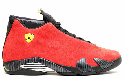 Jordan 14 Ferrari Retro - Sole Alley