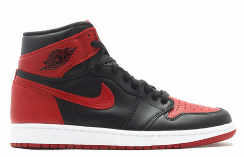 Air Jordan 1 Banned High OG Bred 2016 Release - Sole Alley
