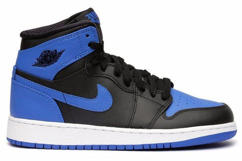 Air Jordan 1 High OG Black Varsity Royal Blue White (GS) - Sole Alley