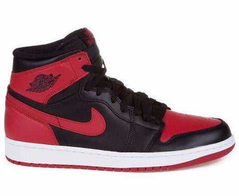 Air Jordan 1 High OG Bred Black Red and White - Sole Alley