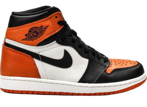 Air Jordan 1 High OG Shattered Backboard Orange Black White - Sole Alley