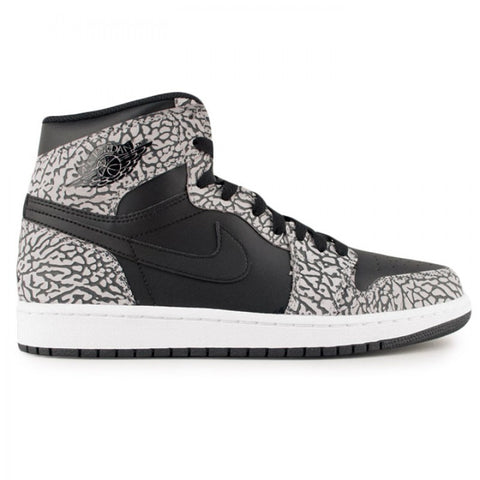 Jordan 1 High OG Un-Supreme Black Elephant Print - Sole Alley