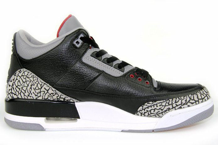 Jordan 3 Retro Bred Black Cement - Sole Alley