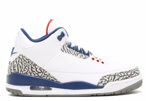 Jordan 3 Retro True Blue 2016