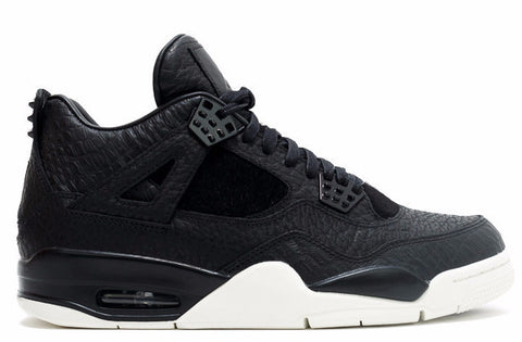 Jordan 4 Pinnacle Premium Black Pony Hair - Sole Alley