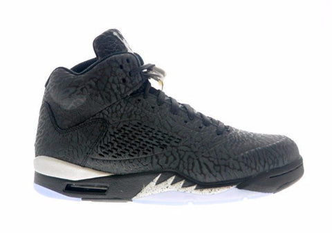 Jordan 5 3Lab5 Black Metallic Silver Retro - Sole Alley