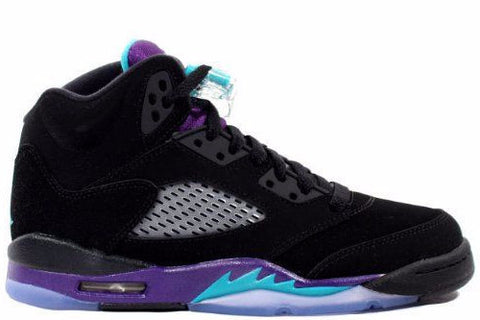Jordan 5 Black Grape Retro (GS) - Sole Alley